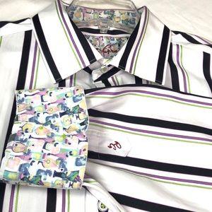 Authentic Robert Graham Classic Fit LS Shirt